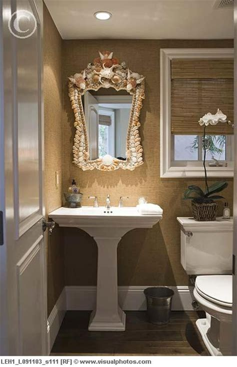 wall texture with pedestal sink the mirror has got to go