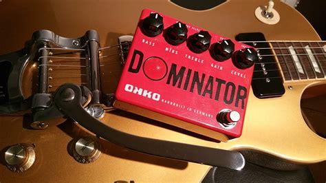 Dominator Mkii Okko Pedal okko dominator image 1666901 audiofanzine