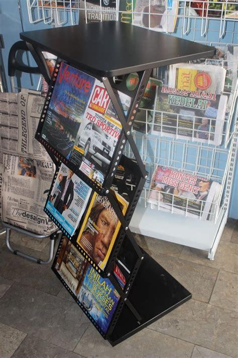 Rak Display Majalah jual rak display majalah tipe 1