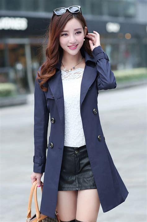 Jaket Crop Jeket Wanita coat wanita blazer wanita jyw832navy coat korea