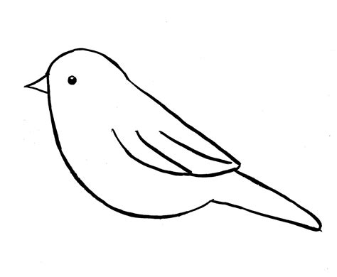 easy bird coloring page birds drawing step by step coloring page good looking