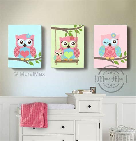 owl room room decor owl canvas baby nursery owl canvas
