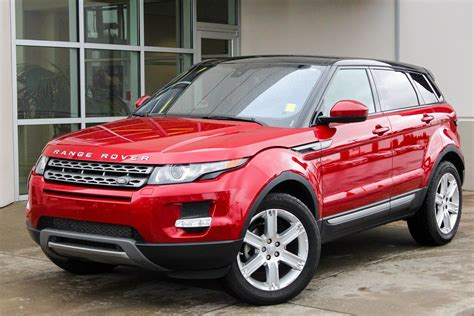 certified pre owned land rover certified pre owned 2014 land rover range rover evoque