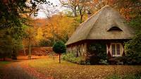 1920x1080 Country House In Autumn Desktop PC And Mac Wallpaper