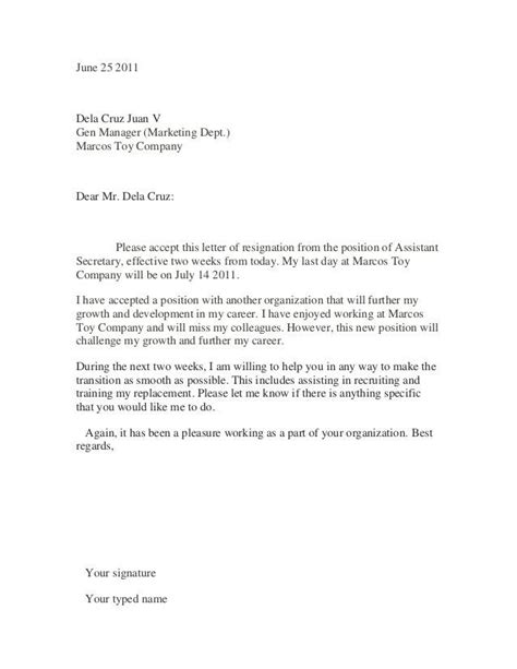 Pin By Template On Template Pinterest Resignation Letter Sle Resume And Letter Sle Sle Resignation Letter Template