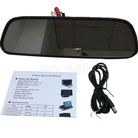 Kamera Spion Mobil Cermin Rear View Mirror Hd 720p buy grosir avc dvd from china avc dvd penjual
