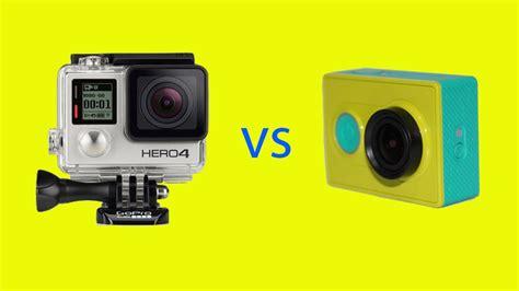 Gopro Vs Xiaomi gopro hero4 vs xiaomi yi comparison