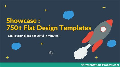 Flat Design Templates For Keynote And Powerpoint Youtube Flat Design Powerpoint Template