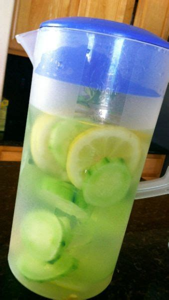Lemon Detox Recipe 2 Litres by 5 Minute Recipe Lemon Cucumber Detox Water Get Rid Of