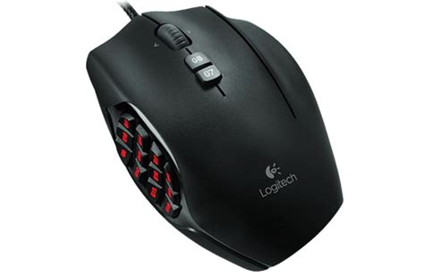 Logitech G 600 Gaming Mouse mmo gaming mouse g600 logitech