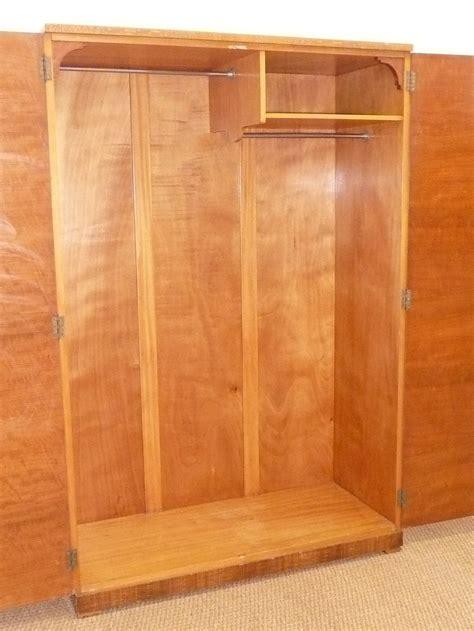Silky Oak Wardrobe by Heal S Deco Queensland Silky Oak Wardrobe Antiques Atlas