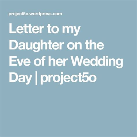 Best 25  Letter to daughter ideas on Pinterest   Letter to