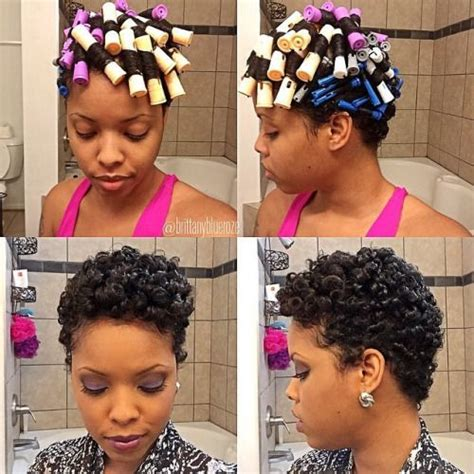Hairstyles With Perm Rods by Hairstyle For The Week Using Perm Rod To Create
