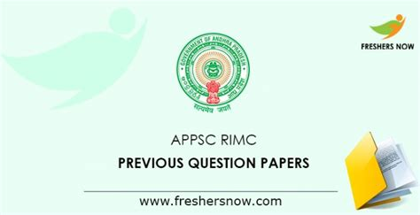 appsc rimc previous question papers  gk english maths
