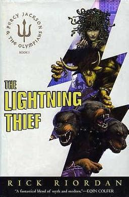The Lightning Thief Cover 8th Percy Jackson Oleh Rick Riordan percy jakson the olympians synopsis