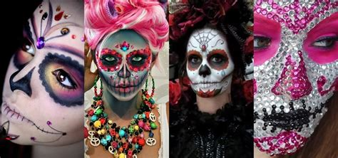 Scary Halloween Decorations To Make At Home by The 15 Best Sugar Skull Makeup Looks For Halloween