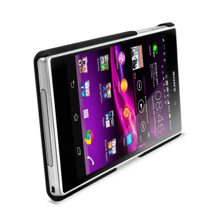 Jual Capdase Karapace Touch Cover Sony Xperia Z Ultra Xl39h capdase karapace touch for sony xperia z1 black