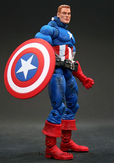 Captain America Marvel America 1 marvellegends net marvel legends series 1