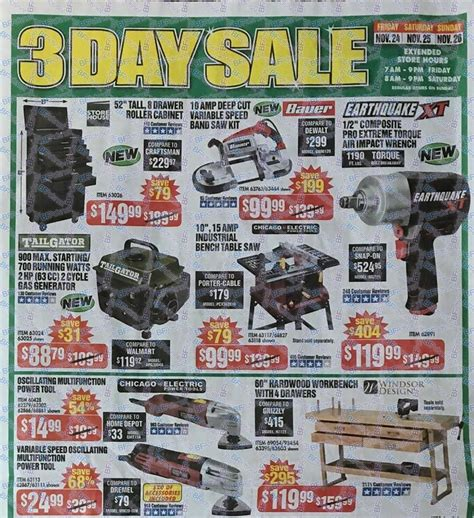 black friday deals on floor ls harbor freight tools black friday ad 2017