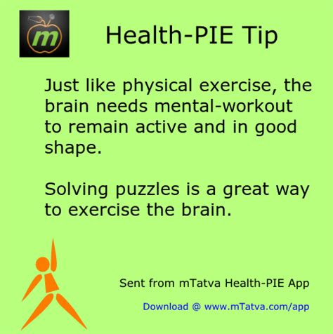 8 Great Ways To Exercise Your Brain by Food For Healthy Brain Mtatva Health Pie