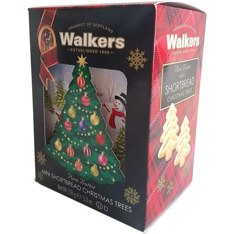 walkers mini shortbread christmas trees