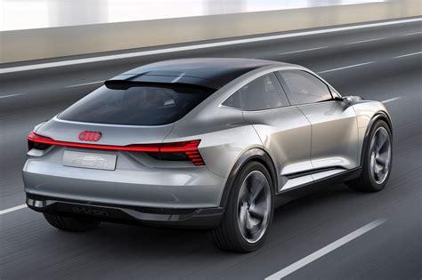 new audi concept car age of e audi e sportback concept surges ev