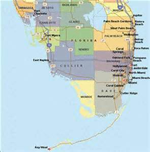 map of south florida map travel holidaymapq