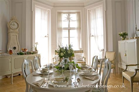 White Dining Room Houzz Swedish Gustavian Dining Room Traditional Dining Room