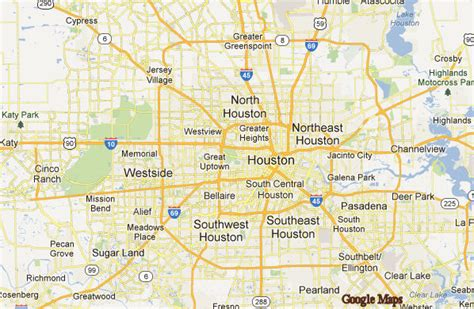 houston map by area let us help you find a home in houston houston real estate
