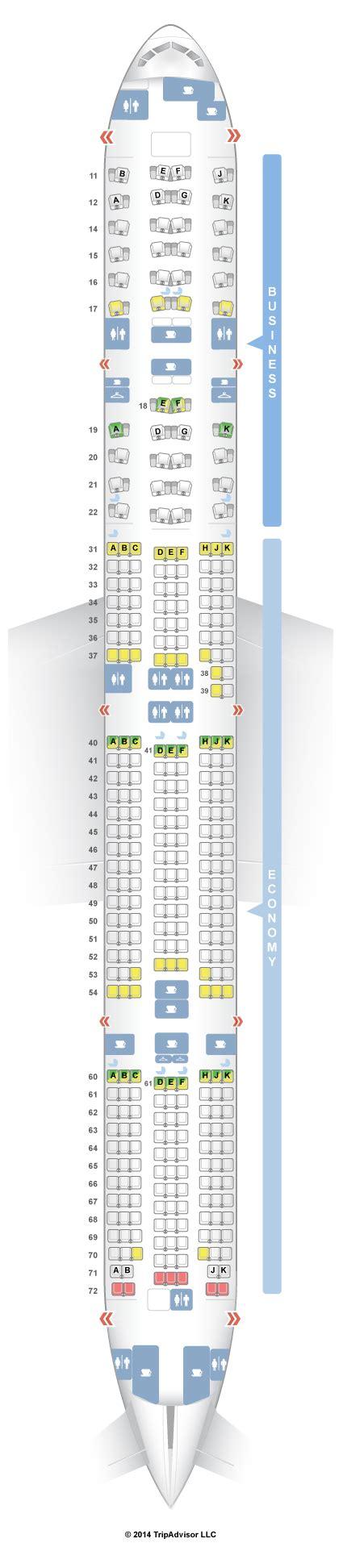 boeing 777 300er jet seating plan seatguru seat map thai boeing 777 300er 77w thailand