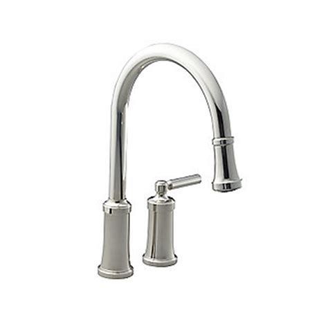 kallista quincy tm pull kitchen faucet p25000 00