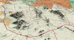 Southern Arizona Map by Virtual Tours