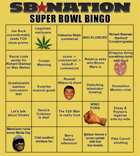 football betting card template bowl squares 2014 template and more sbnation