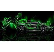 Monster Energy Lamborghini Logo Wallpaper