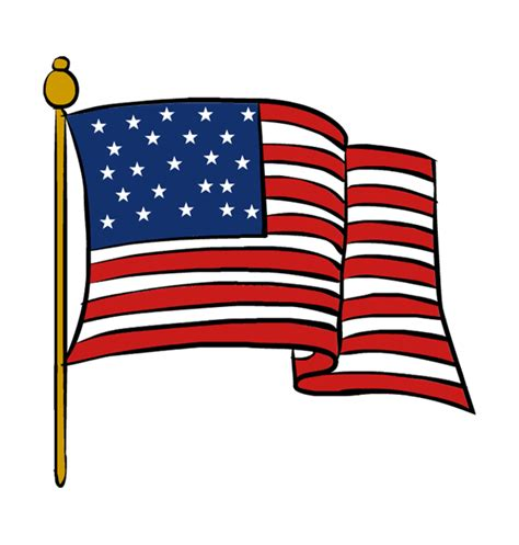 flag clipart clipart veterans day flag cliparting