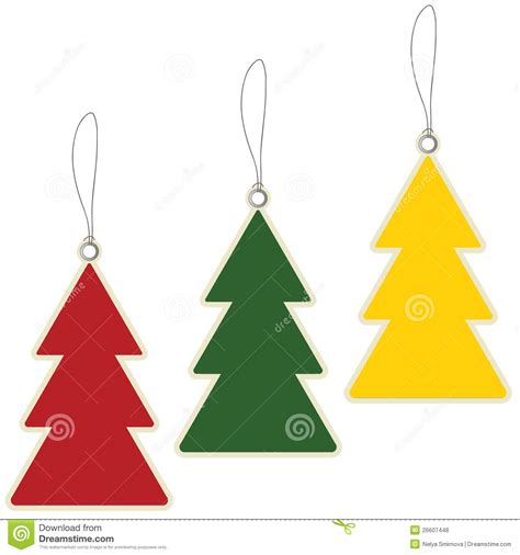christmas tree price tags stock vector image of christmas