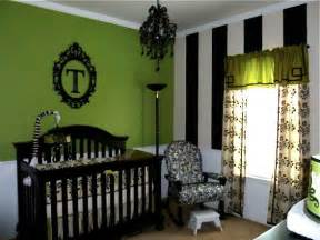 Lime Green Crib Bedding Fabulous Nursery Ideas Without A Hint Of Pink