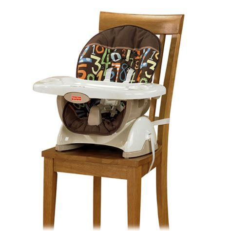Space Saving High Chair by Straps Easily Securely To Most Any Kitchen Or Dining Chair