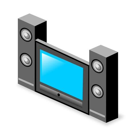 free home theater system clip