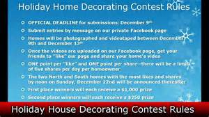 Decorating Rules Realestatesiny Com S Holiday Home Decorating Contest Rules