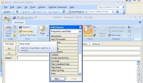 design form using vbscript outlook custom forms in vb net