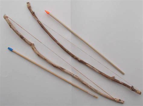 How To Make A Bow And Arrow With Paper - of crafts make a bow and arrow