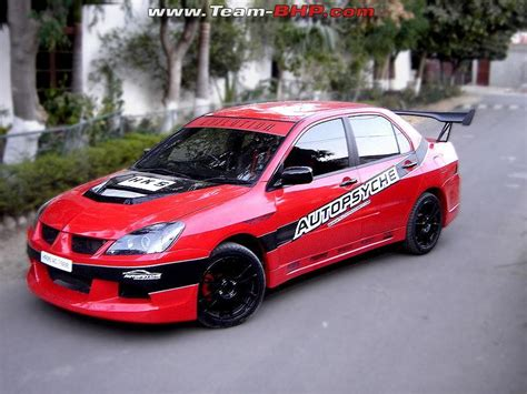 mitsubishi lancer cedia modified 2006 mitsubishi cedia evilution abix s garage team bhp