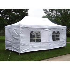 Canopy Tent Gigatent Tent Deluxe 10 Ft X 20 Ft Accordion Steel