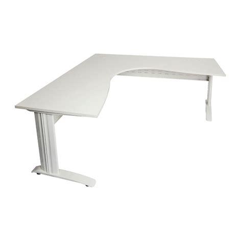 Rapidline Corner Desk 1500 X 1500 X 700mm White Officeworks White Desk Corner