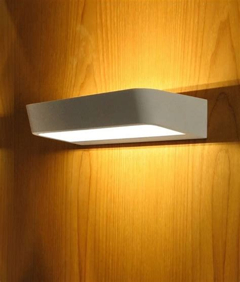 Up And Lighting Wall Sconce White Led Wall Sconce For Up And Light Distribution