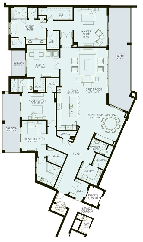 the azure floor plan azure palm gardens new waterfront luxury condos for