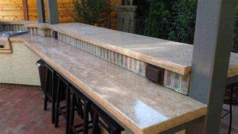 commercial bar large 3 5 quot square edge cast in place