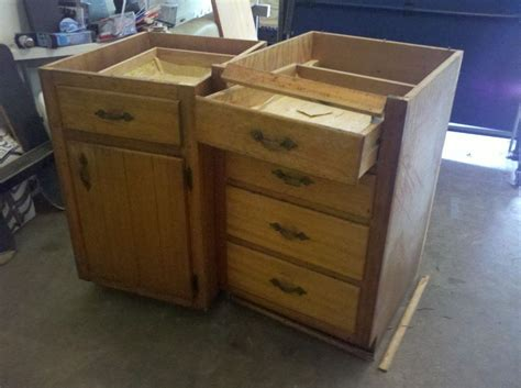 repurpose old kitchen cabinets hometalk old base cabinets repurposed to kitchen island