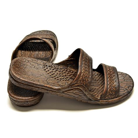 jesus shoes pali hawaii jesus sandals jandals brown honuvibe